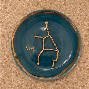 Anthropologie Zodiac Trinket Dish (Virgo)